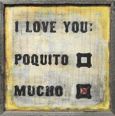 Sugarboo Designs I Love You Mucho Art Print The Garden Gates