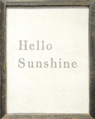 Sugarboo Designs Hello Sunshine Art Print The Garden Gates