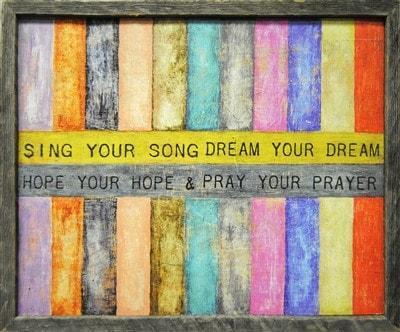 Sugarboo Designs Sing Your Song Art Print The Garden Gates