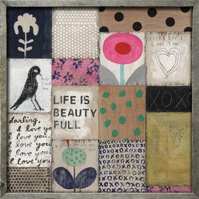Sugarboo Designs Collage #1 Art Print The Garden Gates
