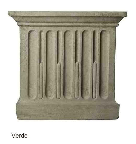 Image of Campania International Wilton Urn with Barnett Pedestal At Home with Beth and Chad