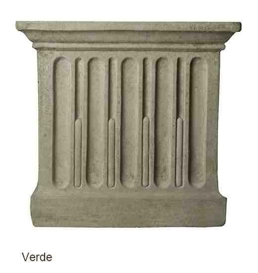 Campania International Wilton Urn with Barnett Pedestal - The Garden Gates  - 12