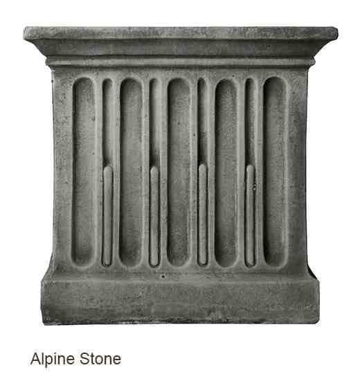 Campania International Wilton Urn with Barnett Pedestal - The Garden Gates  - 2