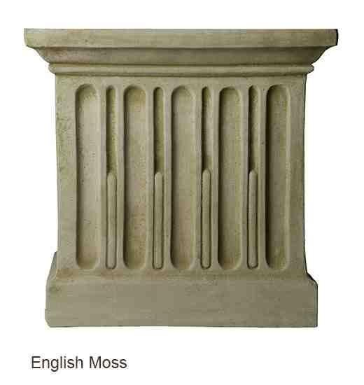 Campania International Wilton Urn with Barnett Pedestal - The Garden Gates  - 5
