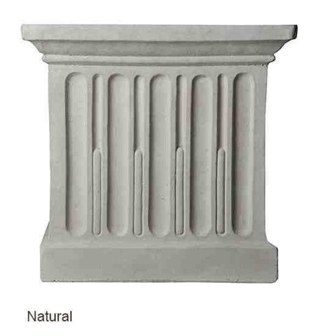 Campania International Wilton Urn with Barnett Pedestal At Home with Beth and Chad