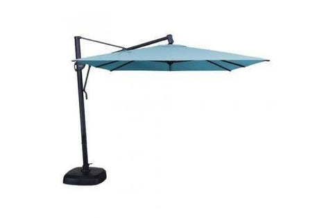 Image of Treasure Garden 10ft Cantilever Square Umbrella At Home with Beth and Chad