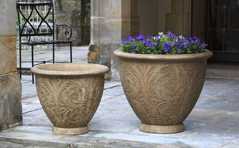 Image of Campania International Arabesque Planter (Large) - AtHomewithBethandChad.com