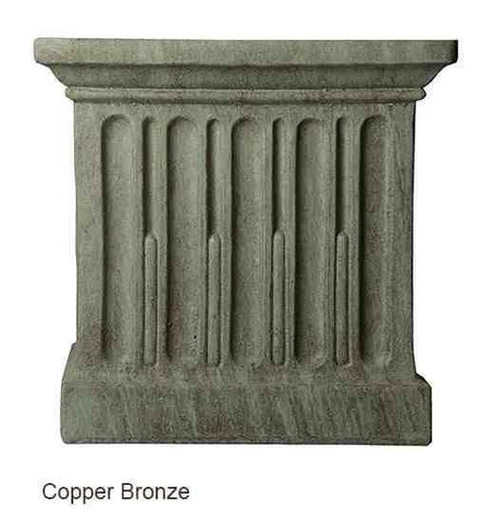 Campania International St. Louis Planter with Pedestal The Garden Gates