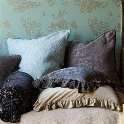 Image of Bella Notte Linens Adele Coverlet with Silk Velvet Edge - Quick Ship - AtHomewithBethandChad.com