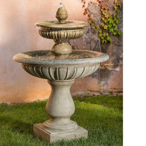 Campania International Longvue Fountain At Home with Beth and Chad