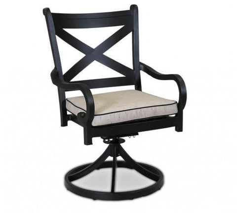 Sunset West Monterey Outdoor Swivel Dining Chair