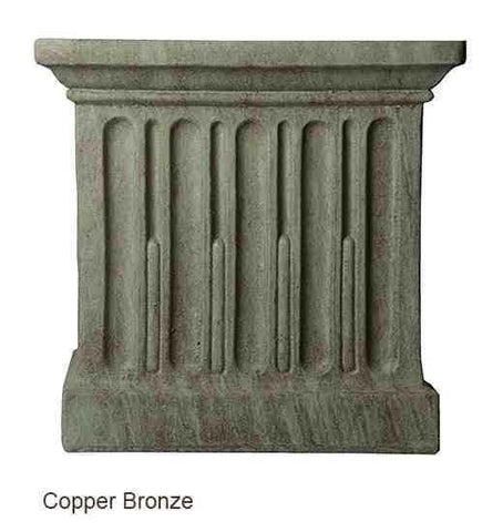 Campania International Barnett Pedestal - At Home with Beth and Chad  - 4