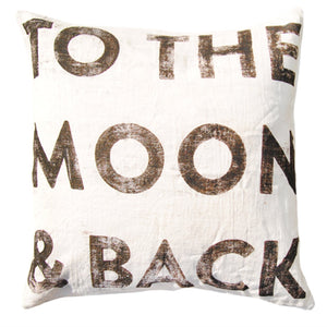 Sugarboo Designs To The Moon And Back Pillow