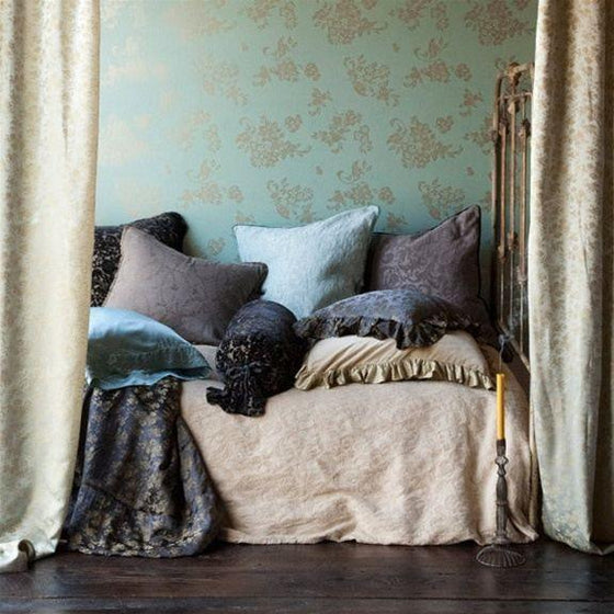 Bella Notte Linens Adele Pillow Shams with Flange The Garden Gates