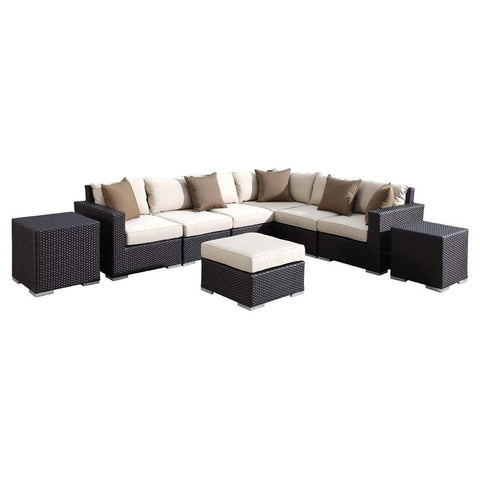 Solana Sectional by Sunset West At Home with Beth and Chad
