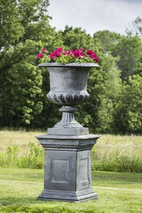 Campania International Hillsworth Pedestal The Garden Gates