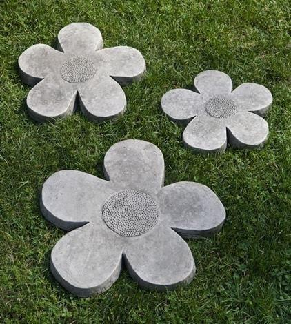 Flower Power Stepping Stone Set by Campania International - At Home with Beth and Chad  - 1