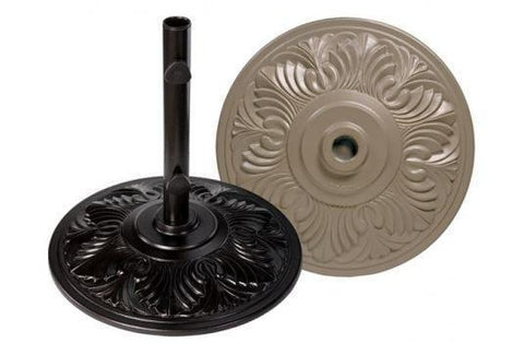 Image of Treasure Garden Art Deco Umbrella Base At Home with Beth and Chad