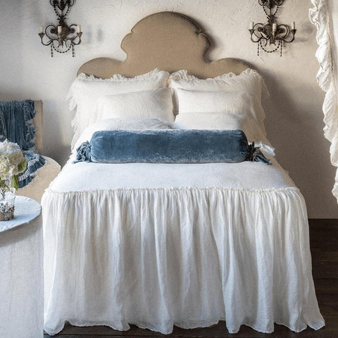 Image of Bella Notte Linens Whisper Linen Bedspread - AtHomewithBethandChad.com