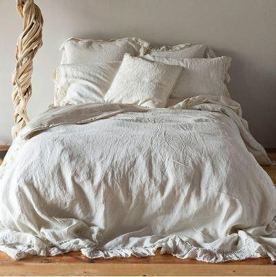 Bella Notte Linens Whisper Linen Duvet Cover Quick Ship