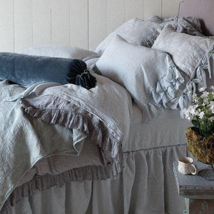 Bella Notte Linens Whisper Linen Pillowcase - AtHomewithBethandChad.com