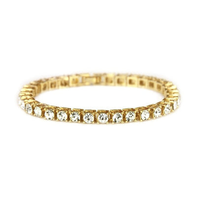 Gold Layered Men's Tennis Bracelet - 5MM