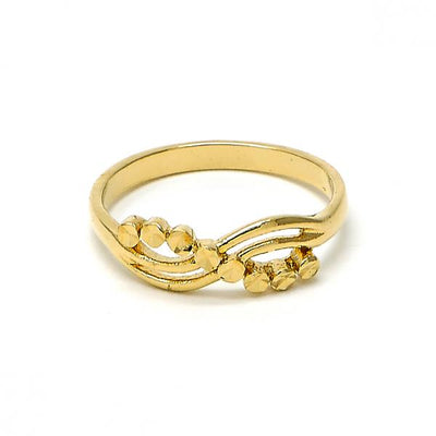 Gold Layered Women Infinite Elegant Ring, by Folks Jewelry