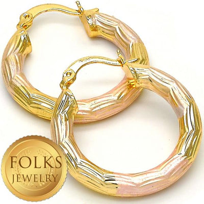 Gold Layered Women Small Hoop, by Folks Jewelry