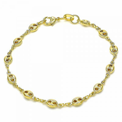 Gold Layered Boys and Girls Fancy Bracelet, by Folks Jewelry