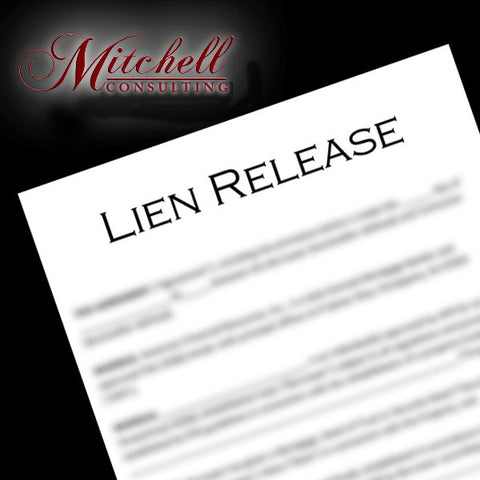 LIEN RELEASE WITH RECORDING
