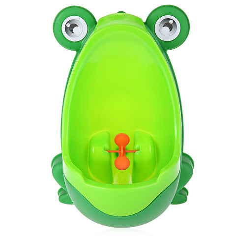 Wall-Mounted Toilet Training Frog for Boys
