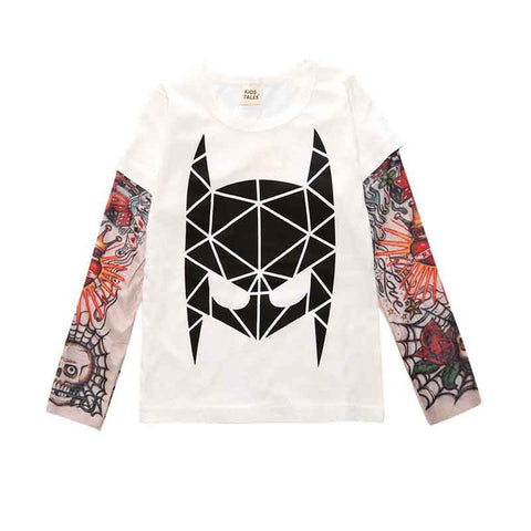 Long Sleeve Tattoo T-Shirt