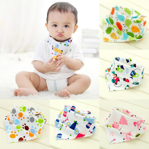 Cartoon Bandana Bib