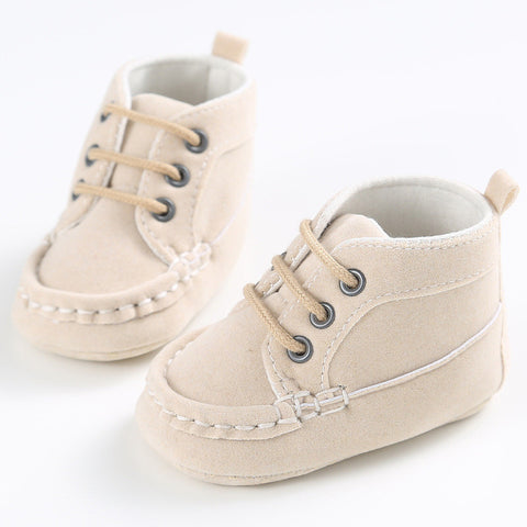 Baby Lace-Up Moccasins
