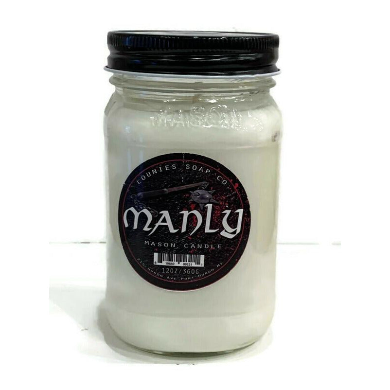 Manly Candle