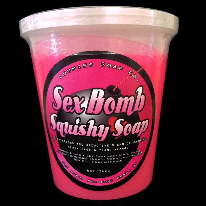 Sex Bomb® Squishy Soap