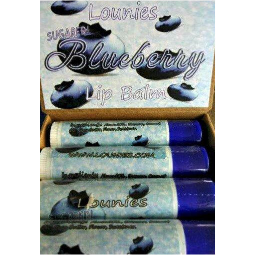 Sugared Blueberry Lip Balm
