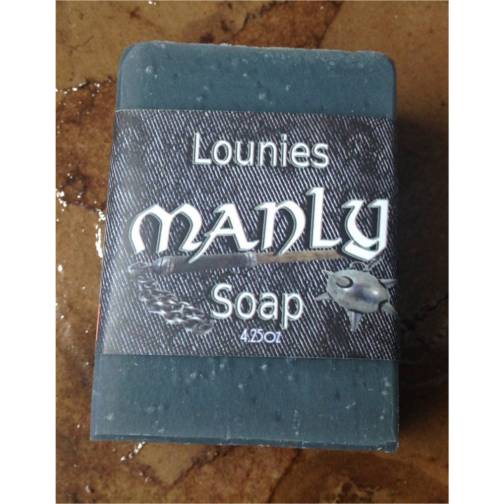 Manly Soap | Activated Charcoal | Favor | Detox | Mens Soap | Groomsmen | Natural |