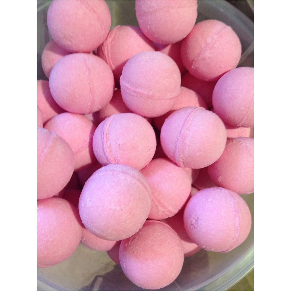 Pink Sugar Bath Bomb 2.25oz -Natural, Mango Butter,Cocoa Butter, Luxury