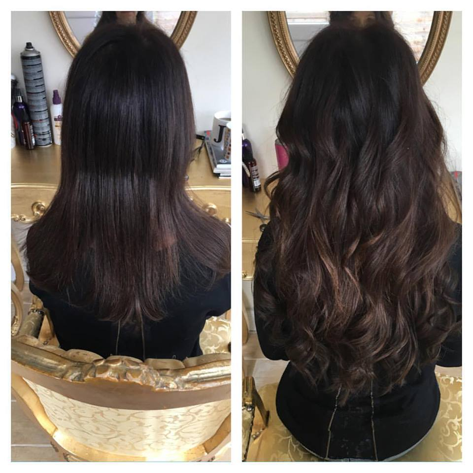 Hair Extension Fitting No1 For Hair Extensions Sunset Strip