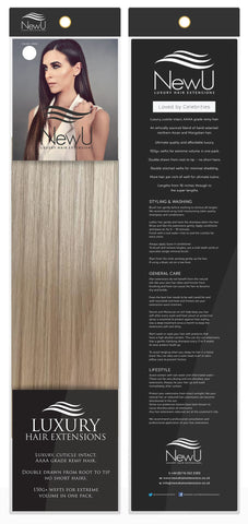 Alaska (Weft) 100% Remy AAAA Luxury Hair Extensions - New U Hair Extensions, Voted No1 By You!