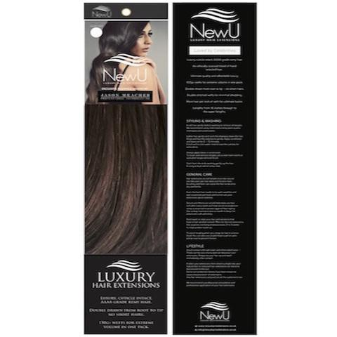 Ibiza (Weft) 100% Remy AAAA Luxury Hair Extensions - New U Hair Extensions, Voted No1 By You!