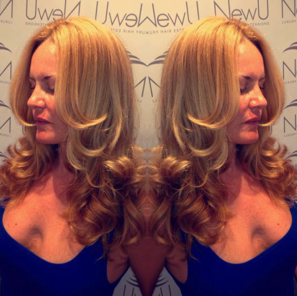 Blow Dry No Extensions New U Salon Ibiza