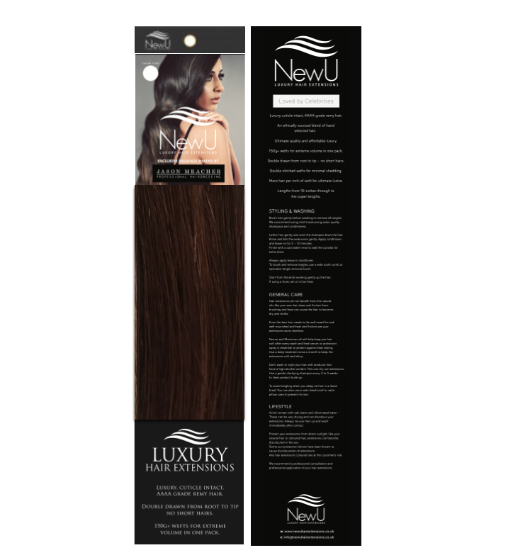 Sicily (Weft) 100% Remy AAAA Luxury Hair Extensions - New U Hair Extensions, Voted No1 By You!