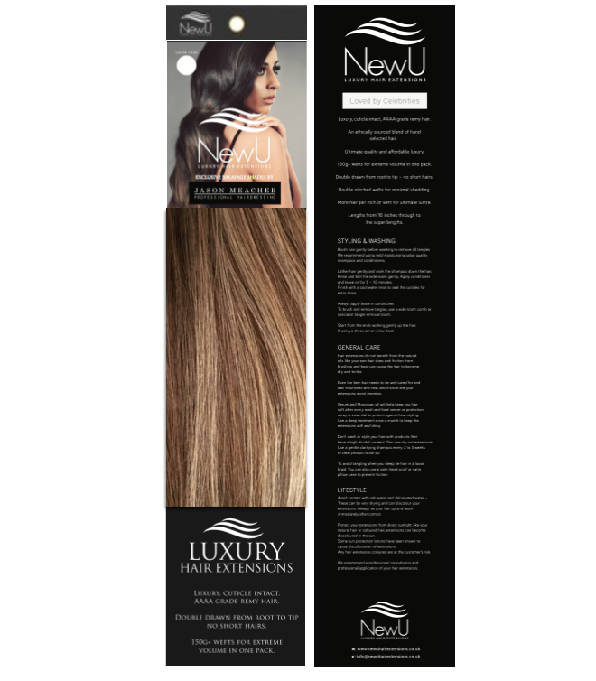 Vienna (weft) - New U Hair Extensions, Voted No1 By You!