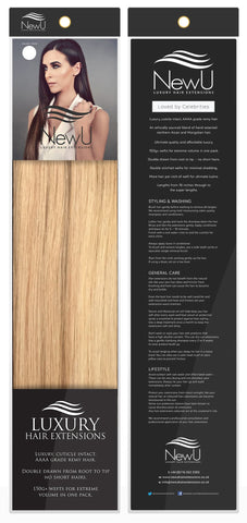 Bondi (Weft) 100% Remy AAAA Luxury Hair Extensions - New U Hair Extensions, Voted No1 By You!