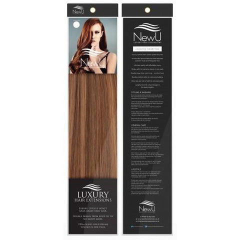 Bronde (Weft) 100% Remy AAAA Luxury Hair Extensions - New U Hair Extensions, Voted No1 By You!