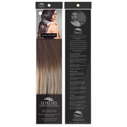 Brondette (Weft) 100% Remy AAAA Luxury Hair Extensions - New U Hair Extensions, Voted No1 By You!