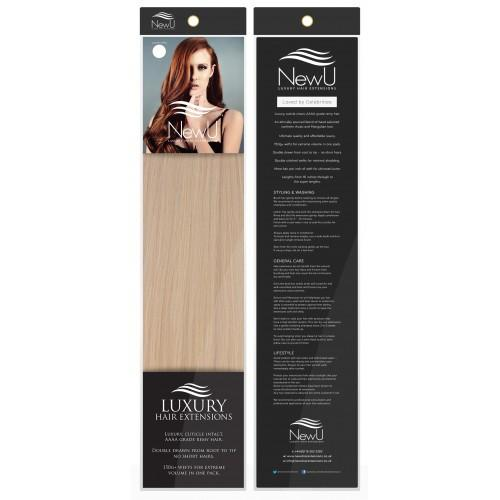 Copenhagen (Weft) 100% Remy AAAA Luxury Hair Extensions - New U Hair Extensions, Voted No1 By You!