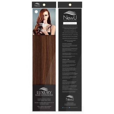 Key West (Weft) 100% Remy AAAA Luxury Hair Extensions - New U Hair Extensions, Voted No1 By You!